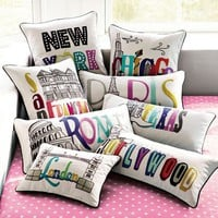 Destination Pillow Cover