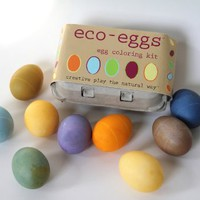 Eco-Kids - Eco-Eggs Easter Egg Coloring Kit:Amazon:Toys & Games