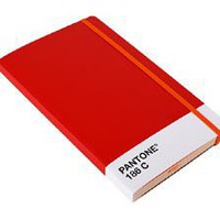 Whitbread Wilkinson Pantone Notebook Large - Red 186 C at Velocity Art And Design