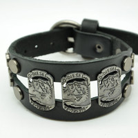 Friendship Punk Adjustable Leather Woven Bracelets mens bracelet Gifts for Men's Bracelet 2269S