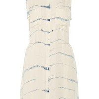 Raquel Allegra | Tie-dye silk-georgette dress | NET-A-PORTER.COM