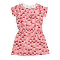 Summer Domino Dress â?? Mushrooms Red | Poppytalk Handmade