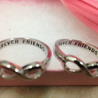 Infinity Ring Best Friends ring Infinity Sister by InfinityRings