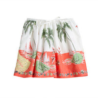 Girls' full skirt in Barbados print - patterns - Girl's skirts - J.Crew
