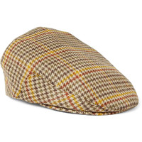 Lock & Co Hatters Houndstooth Cashmere Flat Cap | MR PORTER