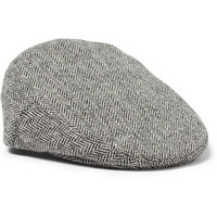 Lock & Co Hatters Herringbone Wool Flat Cap | MR PORTER