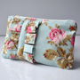 English Rose Ruffle Mini Coin Purse on Luulla