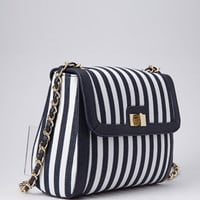 Railroad Striped Crossbody | FOREVER 21 - 1051047576