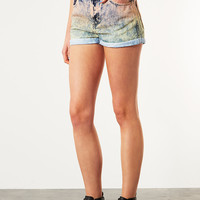 MOTO Dip Dye Peach Hotpants - Denim - Clothing - Topshop USA