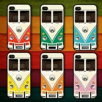 Choose your favorite color of VW Minibus : Case For Iphone 4/4s,5