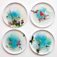 Poketo Birds of Feather Plate Set