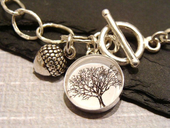 Mighty Oaks From Little Acorns Grow  Sterling by GracefulDeviant