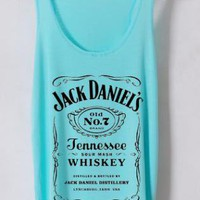 jack daniels - the light blue tank