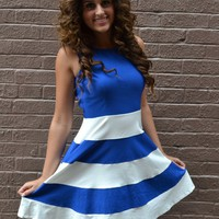 Piace Boutique - Come Sail Away Dress in Dresses