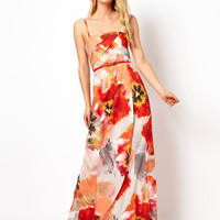 Coast Capparelle Sorrento Print Maxi Dress