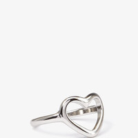 Cutout Heart Ring