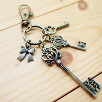 Romantic Keys - Charm Keychain