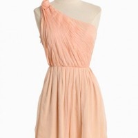 palace rose chiffon dress