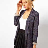 ASOS Blazer In Textured Boucle at asos.com