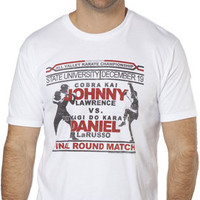 Johnny Vs Daniel Karate Kid T-Shirt