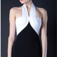 Herve Leger black and white sexy evening dress - &amp;#36;211.00