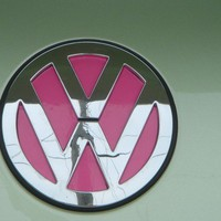 VW Beetle Emblem Vinyl Color Inserts 2011 and older by tonyabug