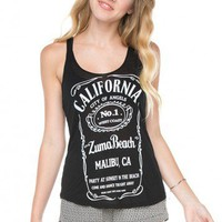 Brandy ♥ Melville |  Kay Zuma Beach Tank - Just In