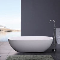 Accio Luxury Modern Bathtub 70.9""