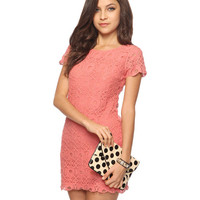 Ornate Lace Dress | FOREVER21 - 2000038882