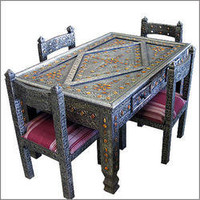 Moroccan dining table, Moroccan table, moroccan furniture