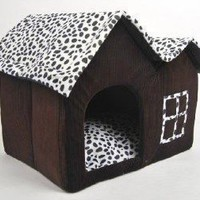 Luxury High-end Double Pet House/brown Dog Room Cat Bed 55 X 40 X 42 Cm:Amazon:Pet Supplies