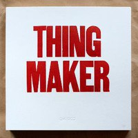 The Official Mfg Co Shop &amp;mdash; THING MAKER Poster