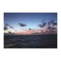 Scenic Caribbean Sunset near Tobago Stretched Canvas Prints from Zazzle.com