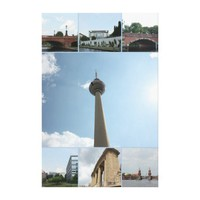 Berlin Architecture Photo Collage Canvas Print from Zazzle.com