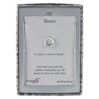 Footnotes Inspiration Sister Pendant Necklace