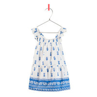 PRINTED DRESS - Dresses - Baby girl - Kids - ZARA United States