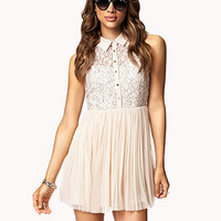 Fit & Flare Tulle Dress | FOREVER 21 - 2053838919
