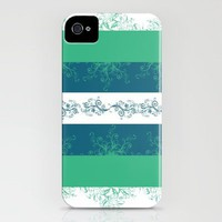 Stripes and Swirls iPhone Case by Kayla Gordon | Society6