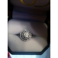 Have You Seen the Ring?: 1.72 ct HALO DIAMOND ENGAGEMENT EGL USA AND APPRAISED $9000 LIKE NEW