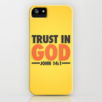 Trust in God iPhone & iPod Case by Wallpapers Avenue