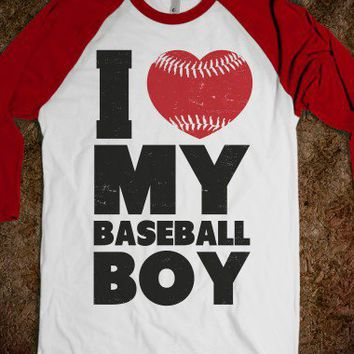 I Love My Baseball Boy | Skreened.com