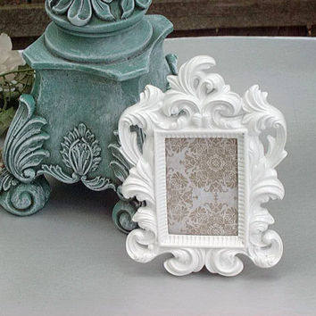 Ornate Picture Frame Wedding Table From AnnClarkDesigns On Etsy