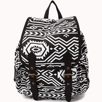 Tribal Pattern Backpack | FOREVER 21 - 1031557717