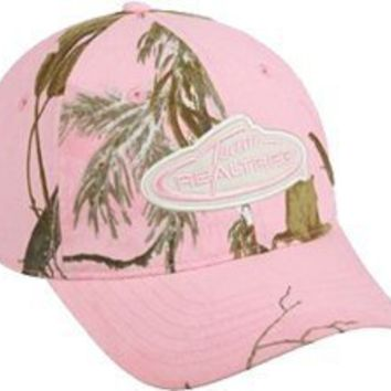 Outdoor Cap Team Realtree Ladies Cap Low Profile AP Pink : Amazon.com : Sports & Outdoors
