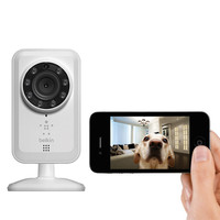 Belkin® NetCam Wi-Fi  Camera with Night Vision at Brookstone—Buy Now!