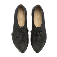 Polly Jean Black Shoes Oxford by TamarShalem on Etsy