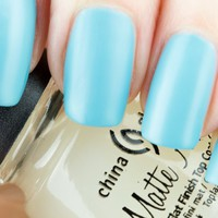 China Glaze Matte Magic Flat Finish