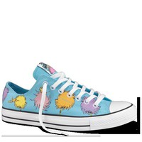Converse - All Star Dr Seuss- The Lorax - Low - Blue/Multi
