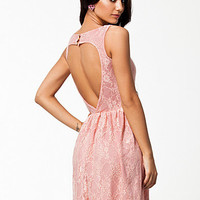 Heart Back Lace Dress, Club L