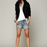 And She Was  Fringe Suede Jacket at Free People Clothing Boutique